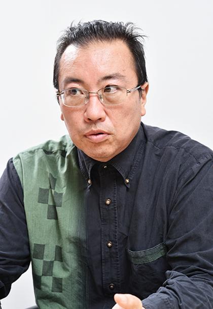 池間 真吾さん(46)血液透析歴 8年 写真1